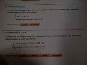 line integral ti89 calculus made easy